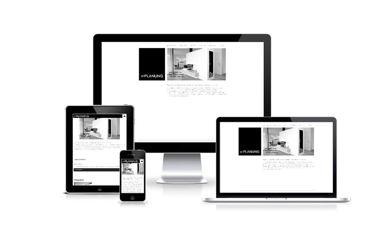 responsive Website rr PLANUNG